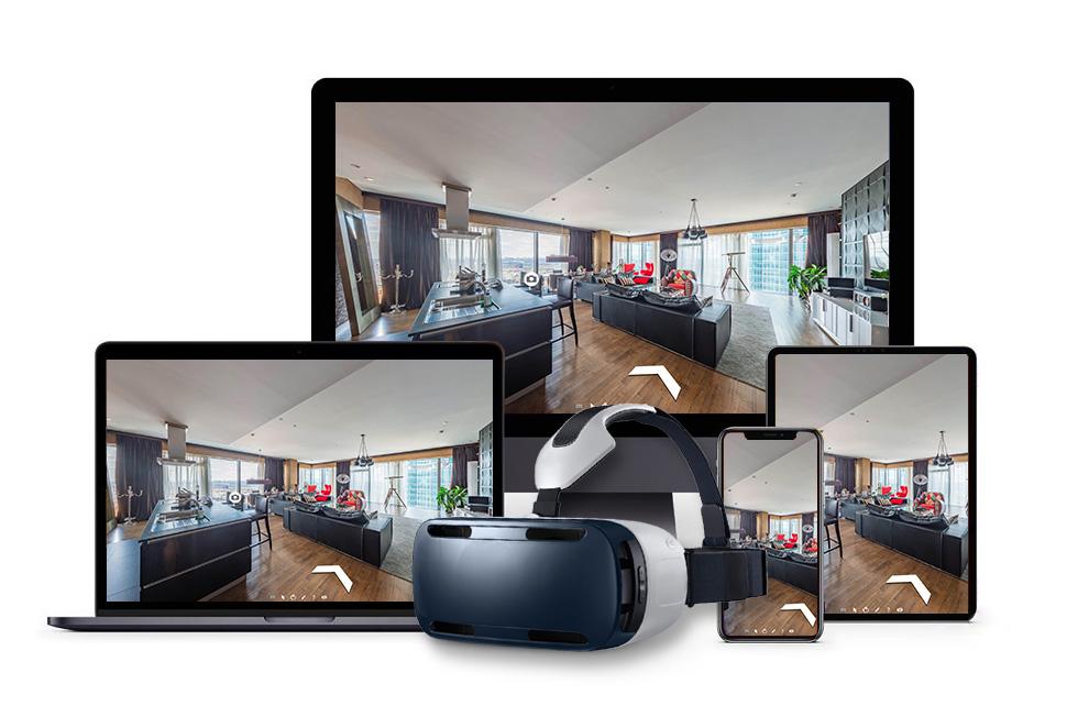 Устройства для просмотра виртуального 3D тура