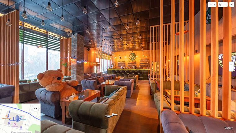 Виртуальный тур по Мята Lounge на Яндекс Картах
